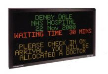 Multi Line Moving Message Signs